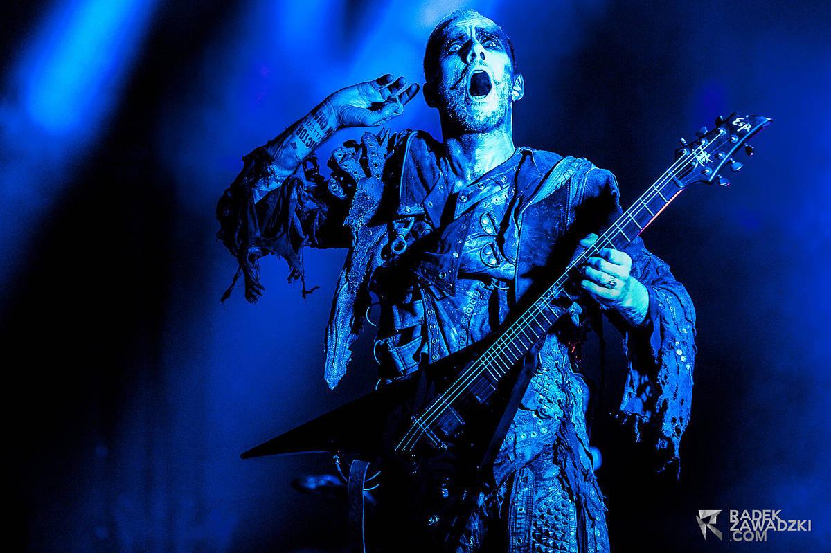 Radek Zawadzki - zdjęcia koncertowe Behemoth