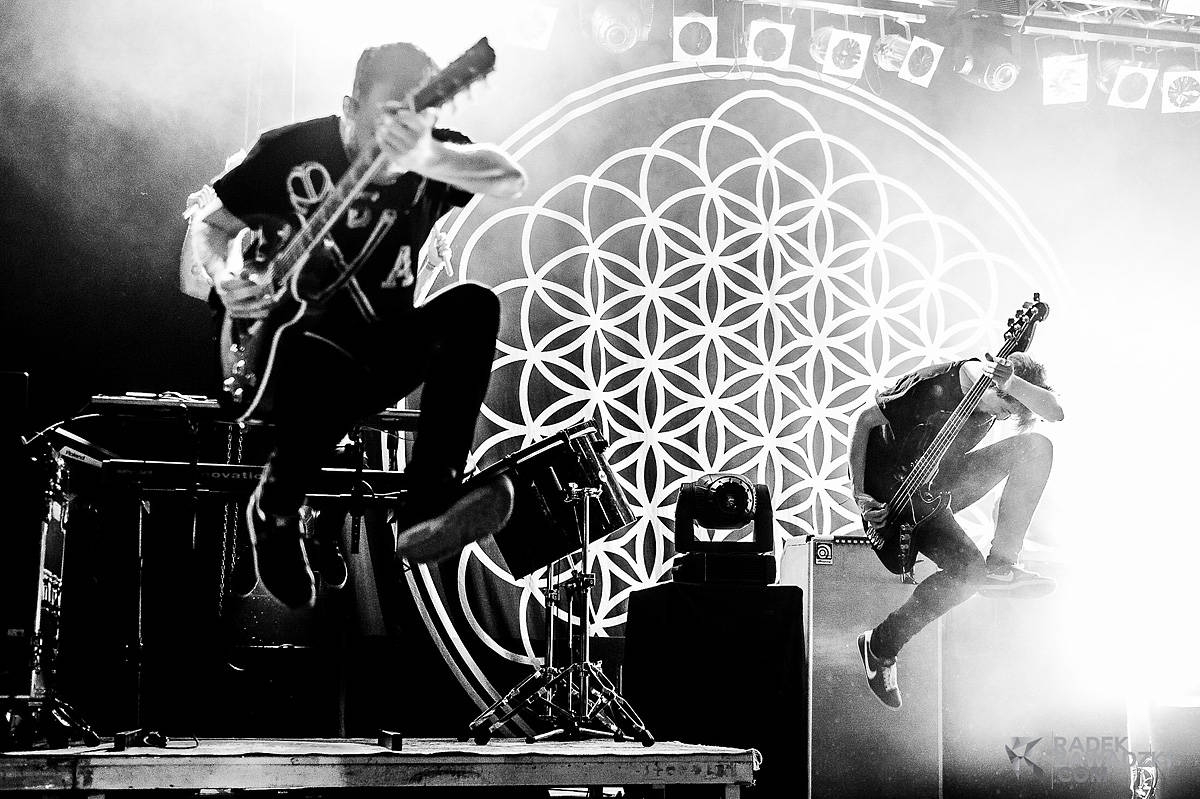 Radek Zawadzki - zdjęcia koncertowe Bring Me The Horizon