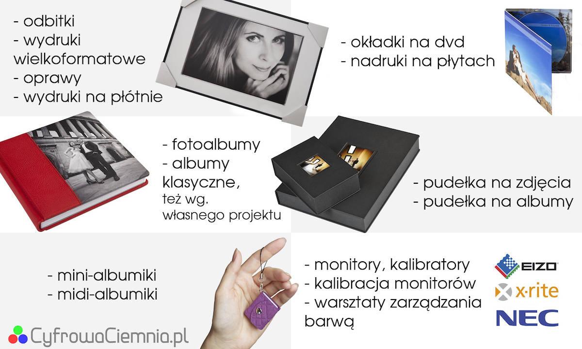 Fotolab - Cyfrowa Ciemnia - polecani dostawcy fotografa