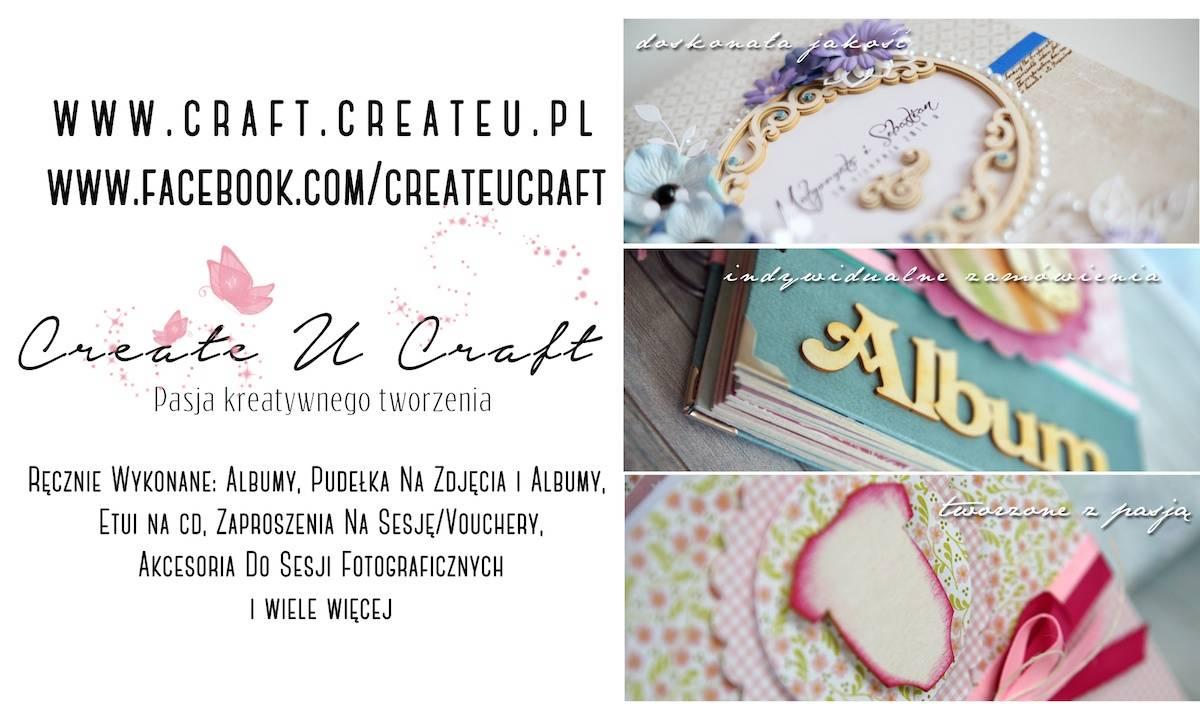 Papierowe pudełka i albumy - Create U Craft - polecani dostawcy fotografa