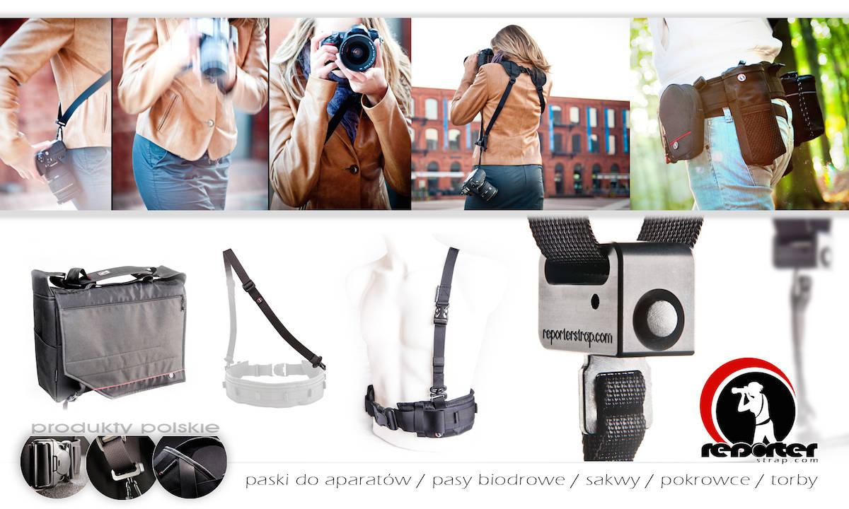 Pasy fotograficzne - Reporterstrap - polecani dostawcy fotografa