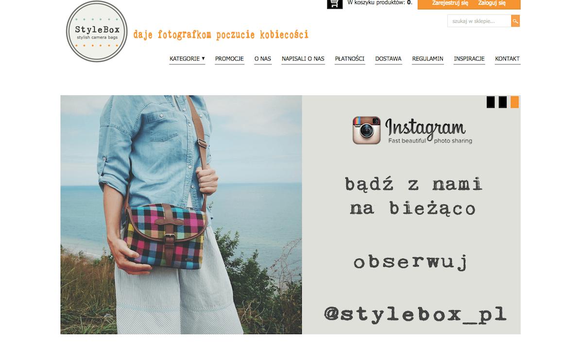 Torby fotograficzne - Stylebox - polecani dostawcy fotografa