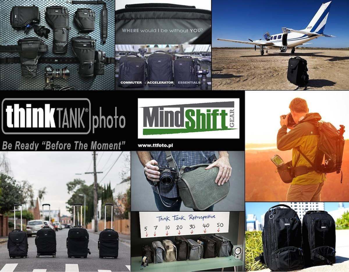 Torby fotograficzne - Think Tank Photo - polecani dostawcy fotografa