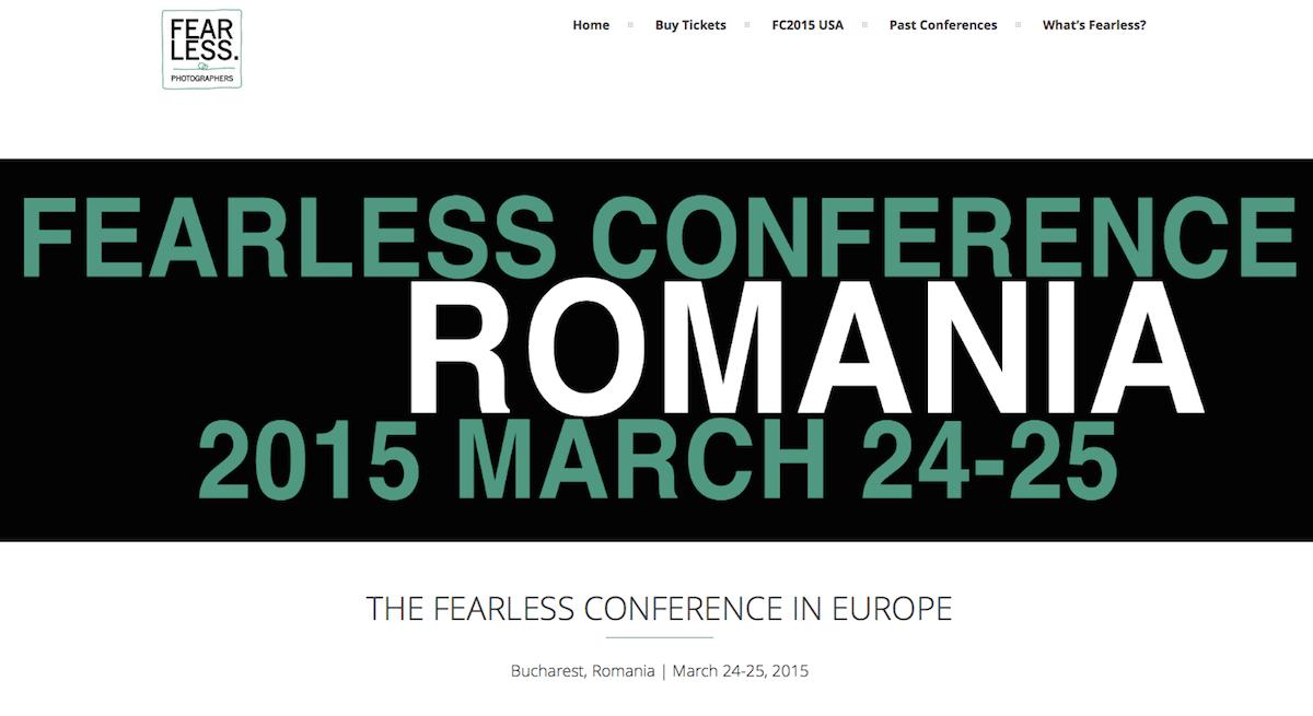 Konferencja Fearless Photographers - konferencja fotografów ślubnych - polecani dostawcy fotografa