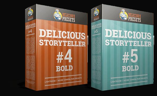 Delicious Storyteller - Presety dla Lightroom i ACR