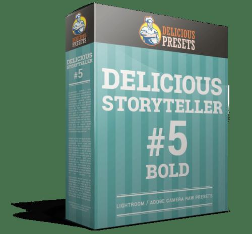 Delicious Storyteller #5 BOLD - presety do Adobe Lightroom i Adobe Camera RAW. Fotografia ślubna i rodzinna
